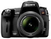 продам фотоаппарат Sony Alpha DSLR-A450 Kit