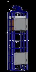 Малый грузовой лифт для кафе.