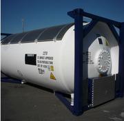 Танк контейнер T50 для перевозки СУГ пропан бутана