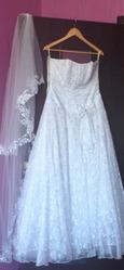 продам свадебное платье 48-52 рзмера