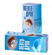 Пептодроп - глазные капли с пептидом
