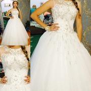 Продается красивое свадебное платье !