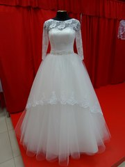 Продам красивое,  нежное свадебное платье