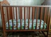 Детская кроватка и матрас,  новые
