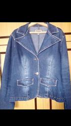 Продам б/у джинсовую куртку