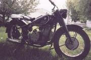 прподаётся мотоцикл урал м-72