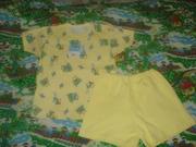 Продам костюм детский футболка+шорты ЮНИ-БОМ